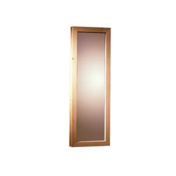 KARIBU Saunafenster für Fassauna, BxH: 25x60 cm natur