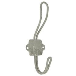 Wandhaken Wandhaken Kleiderhaken Haken Metall Grau Zink Vintage Ib Laursen 310118, Ib Laursen