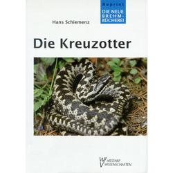Die Kreuzotter als Buch von Hans Schiemenz