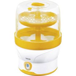 Beurer BY 76 Babyflaschensterilisator Weiß, Gelb