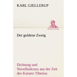 Der goldene Zweig als Buch von Karl Gjellerup