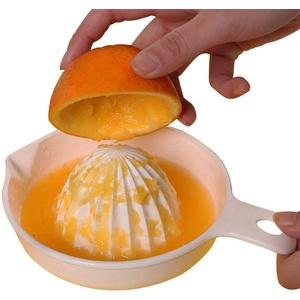 Ogquaton  Fruchtpresse Kunststoff Zitruspresse Kreative Manuelle Fruchtpresse für den Heimküchengebrauch 1 STÜCKE Weiß Kreative und Nützliche