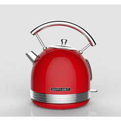 Wasserkocher RETRO rot