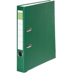 Ordner A4 PP grüner Balken 50mm grün