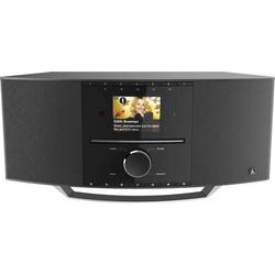 Hama DIR3510SCBTX Internet Tischradio Internet, DAB+ Internetradio, DAB+, CD, Bluetooth®, WLAN Schw