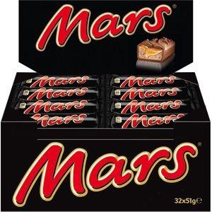 Mars Schokoriegel Classic Sparpack, mit Karamellcreme, 32 Riegel