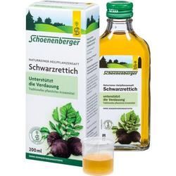 SCHWARZRETTICH Schoenenberger Heilpflanzensäfte 200 ml