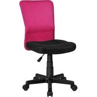 Chefsessel schwarz / pink