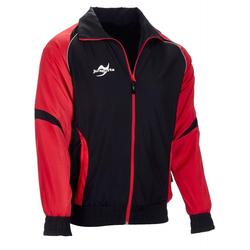 Teamwear Element C2 Jacke schwarz/rot (Größe: L)