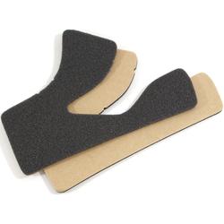 Shoei Glamster Comfort Wangpads, zwart, 2 2 mm