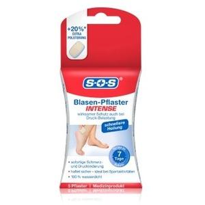 SOS Blasen-Pflaster Intense Fußpflegeset 1 Stk
