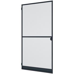 WINDHAGER Insektenschutz-Tür EXPERT Rahmen Drehtür, BxH: 100x210 cm anthrazit