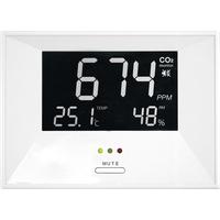 TFA AirCo2ntrol Life CO2-Anzeige / CO2-Messgerät Weiß