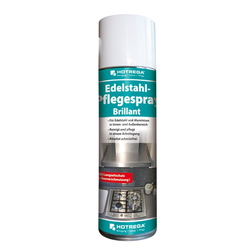HOTREGA Edelstahl Pflegespray Brillant Spraydose (300 ml)