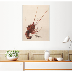Posterlounge Wandbild, Flusskrebs 60 cm x 80 cm