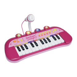 Bontempi Elektronik-Keyboard, rosa