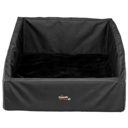 TRIXIE Kofferraum-Bett 75 × 57 cm