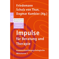 Impulse für Beratung und Therapie: Taschenbuch von