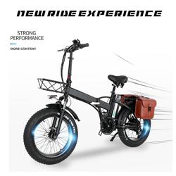 Fangqi E-Bike 031 Elektrofahrrad, 5 Gang, 500 W, Elektrofahrrad mit 48V, 500W Motor, Max 45km/h schwarz