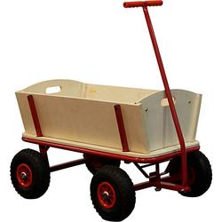 Strand-Bollerwagen Billy rot
