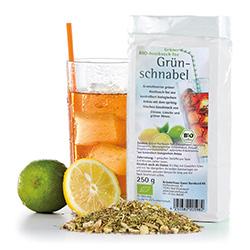 """Grüner Bio-Rooibusch-Tee """"Grünschnabel"""""""