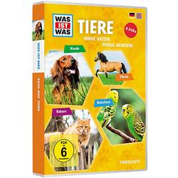 DVD Was ist Was - Tiere - Box2 Hörbuch