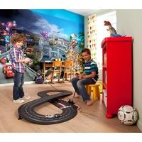 KOMAR Fototapete Cars World 368 x 254 cm