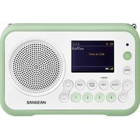 Sangean DPR-76 weiß / grün