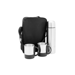 HTI-Line Thermoflasche Thermoset Black, Thermosset