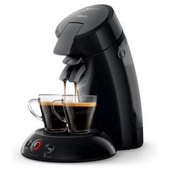 Senseo Kaffeepadmaschine HD6554/22 - Original Kaffeepadmaschine - schwarz