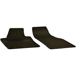 Walser Passform-Fußmatten (2 Stück), VW Caddy Kastenwagen, Kombi, für VW Caddy und VW Caddy Maxi
