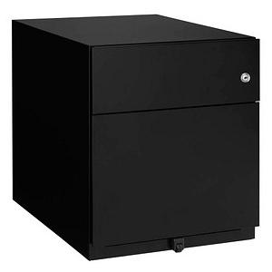 BISLEY Note Rollcontainer schwarz 2 Auszüge