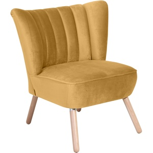 Max Winzer Sessel Aspen gelb Hocker SOFORT LIEFERBARE Möbel