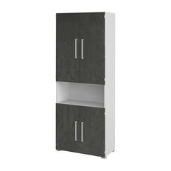 Büroschrank mit 4 Türen 80 cm