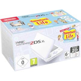 Nintendo New Nintendo 2DS XL weiß + Tomodachi Life