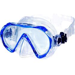 AQUAZON Taucherbrille AQUAZON BEACH Schnorchelbrille, Schwimmbrille, Taucherbrille für Kinder und Erwachsene blau