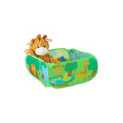 relaxdays Bällebad Baby Bällebad Dschungel mit 50 Bällen