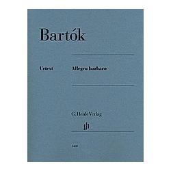 Allegro barbaro  Klavier zu zwei Händen. Béla - Allegro barbaro Bartók  - Buch