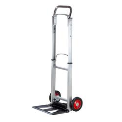 Alu Sackkarre Transportkarre Stapelkarre Karre klappbar bis 90kg Vollgummireifen