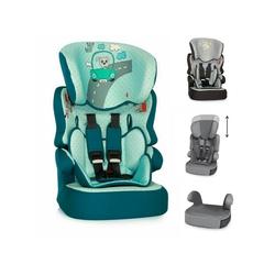 Lorelli Autokindersitz Kindersitz X-Drive Plus Gruppe 1/2/3, 4.25 kg, (9 - 36 kg) 1 bis 12 Jahre, Kissen grün