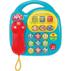 SIMBA Spieltelefon ABC - Telefon, blau