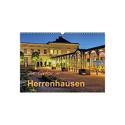 Die Gärten in Herrenhausen (Wandkalender 2021 DIN A3 quer)