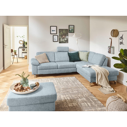Candy Wohnlandschaft Lexie in light blue
