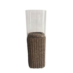 HTI-Line Dekofigur Teelichthalter Rattan (1 Stück), Öllampe