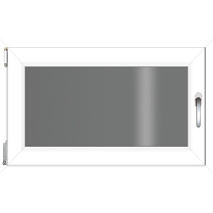 RORO Türen & Fenster Kunststofffenster, BxH: 100x75 cm, ohne Griff