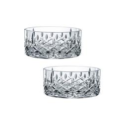 Nachtmann Glas Noblesse Schale Set, Hochwertiges Kristallglas