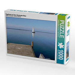 Segelboot auf dem Steinhuder Meer Lege-Größe 64 x 48 cm Foto-Puzzle Bild von Ralf Schröer Puzzle
