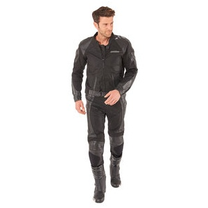 Probiker PRXT Leder/Textilkombi schwarz 58
