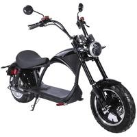 ES-Toys Coco Bike E-Chopper 2000 Watt 48 km/h schwarz