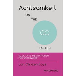 Achtsamkeit ON THE GO – KARTEN